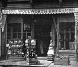 The Woolworth brothers store in Harrisburg, Pennsylvania, USA, pictured in 1880