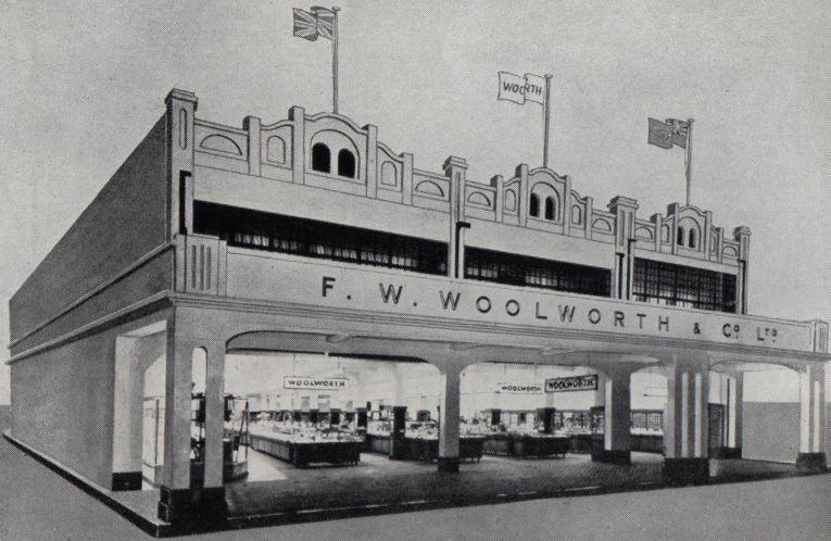 An artist's impression of the planned new Woolworth store in King Street, Kingston, Jamaica