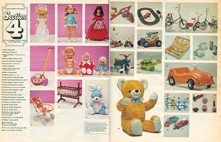 The toys our parents used to buy at Woolworth's in the 1960s